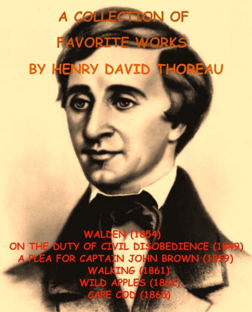 694 henry david books found a collection of favorite works by a collection of favorite works by henry david thoreau author henry thoreau