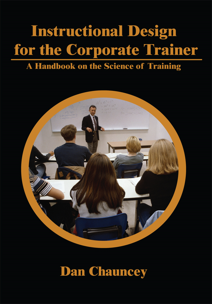 Instructional Design for the Corporate Trainer