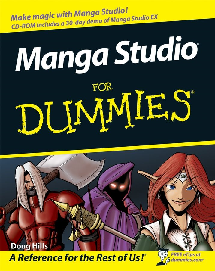 Manga Studio For Dummies