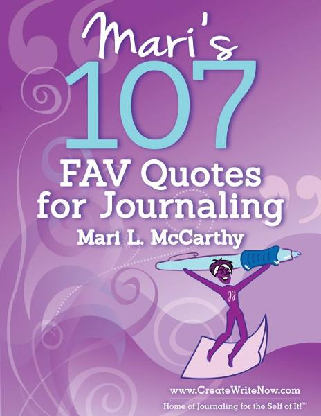 Mari's 107 Fav Quotes for Journaling