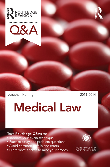 Q&A Medical Law 2013-2014