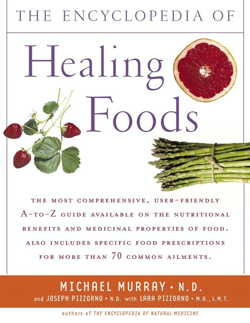 The Encyclopedia of Healing Foods By: JOSEPH PIZZORNO,Michael T. Murray