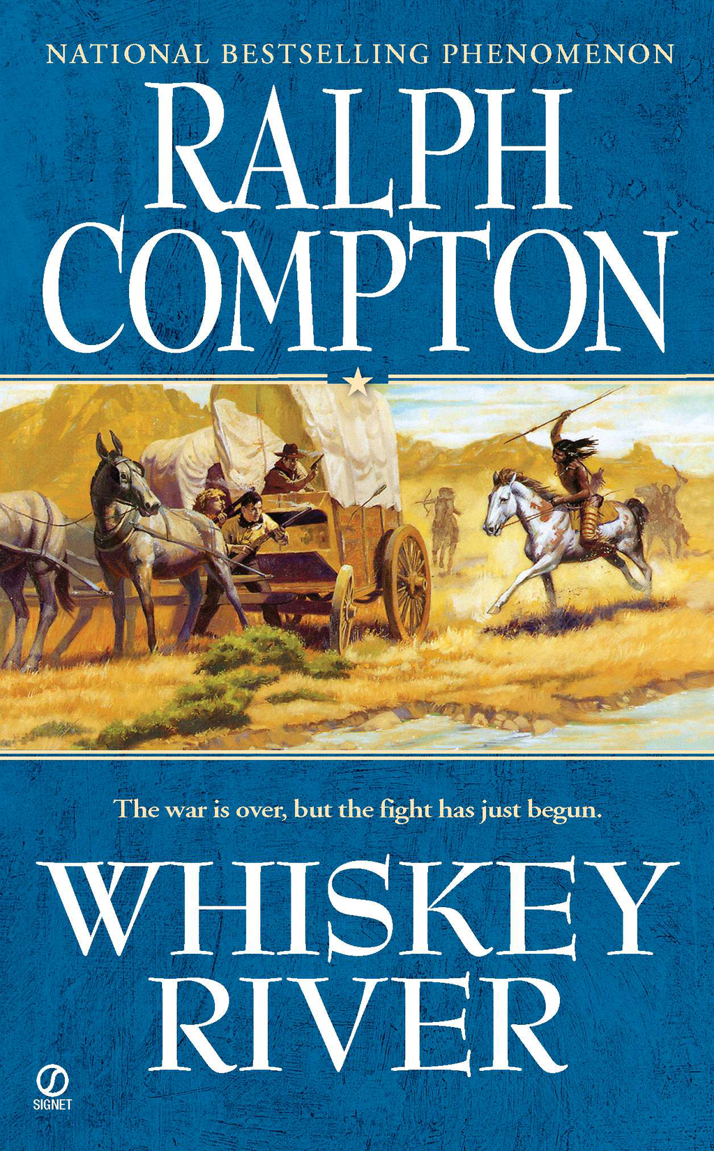 Ralph Compton Whiskey River By: Ralph Compton