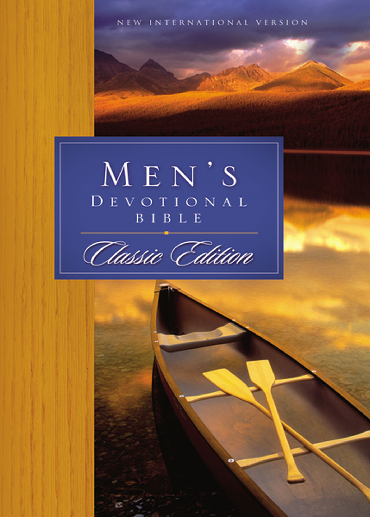 Men's Devotional Bible Classic By: Zondervan