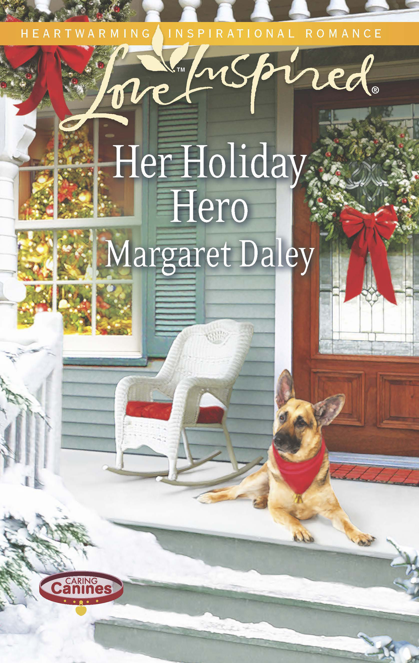 Her Holiday Hero (Mills & Boon Love Inspired) (Caring Canines - Book 2)