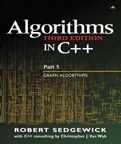 Algorithms in C++ Part 5: Graph Algorithms By: Robert Sedgewick