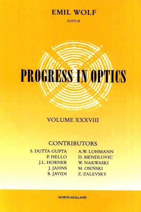 Progress in Optics Volume 38