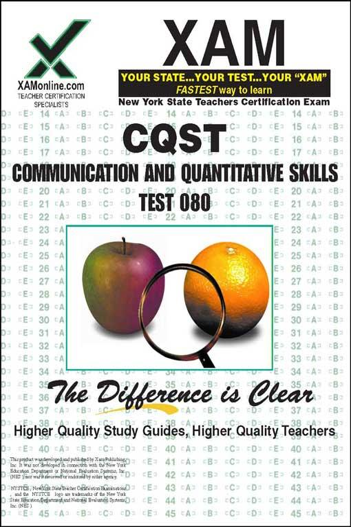 Sharon Wynne - CQST COMMUNICATION AND QUANTITATIVE SKILLS TEST 080