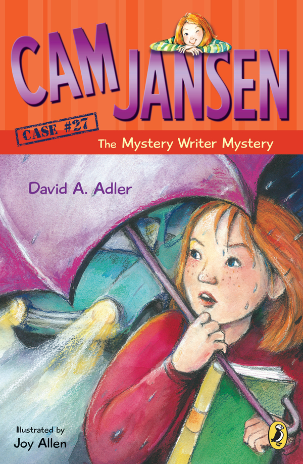 Cam Jansen: Cam Jansen and the Mystery Writer Mystery #27