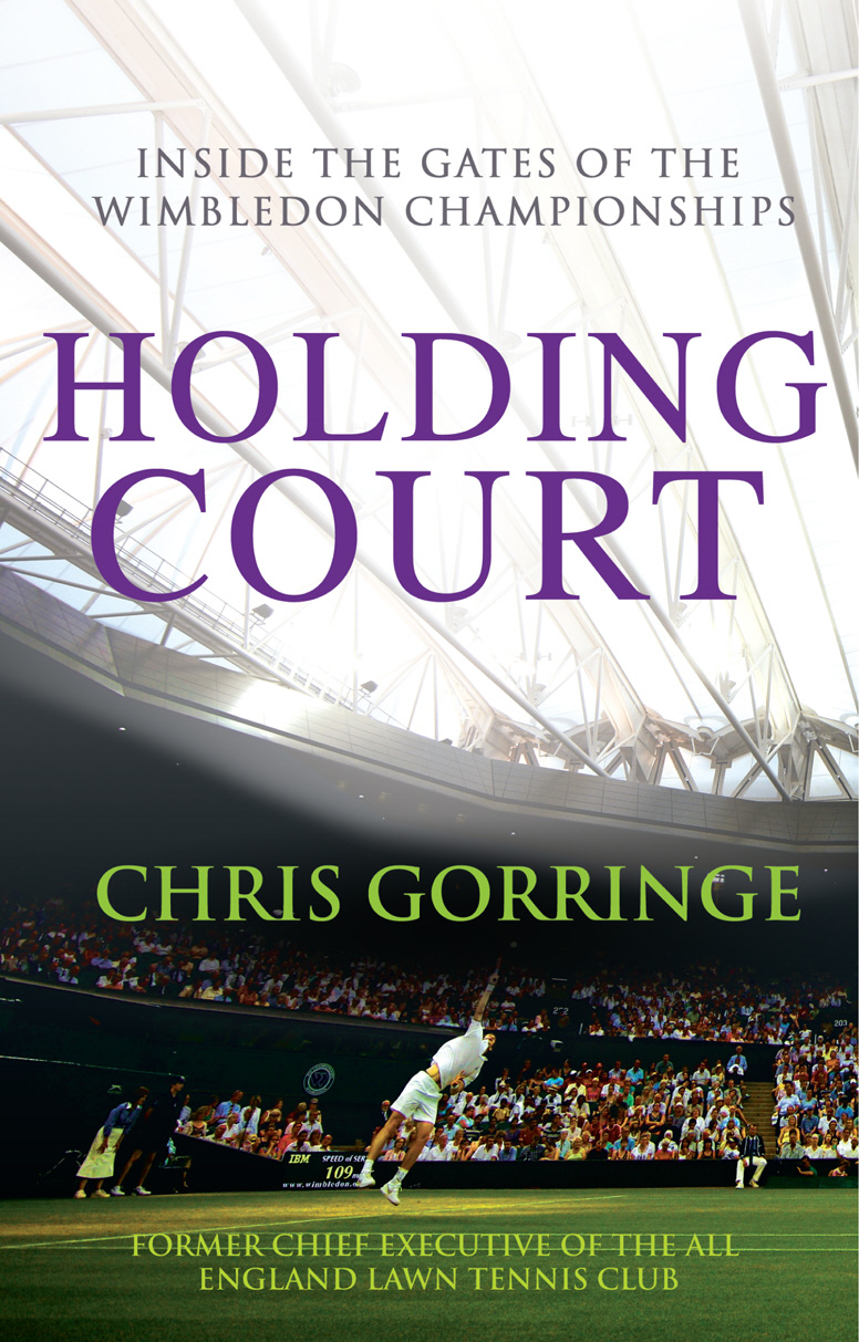 Holding Court By: Christopher Gorringe