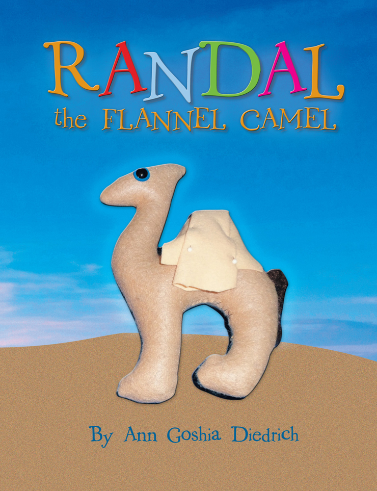 Randal the Flannel Camel