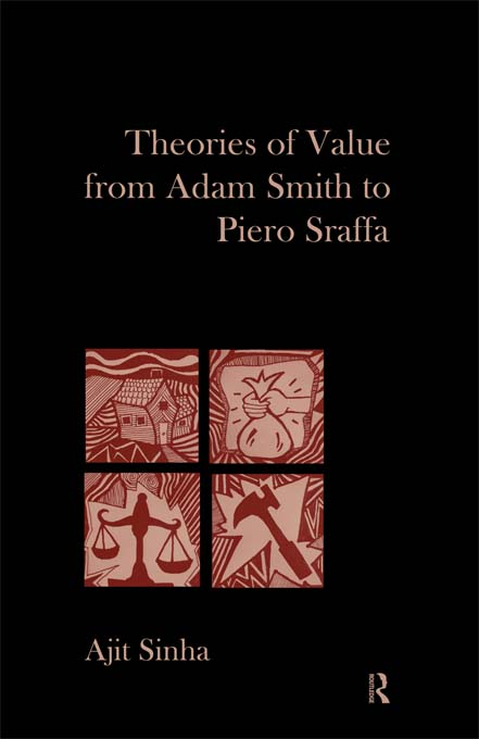 Theories of Value from Adam Smith to Piero Sraffa
