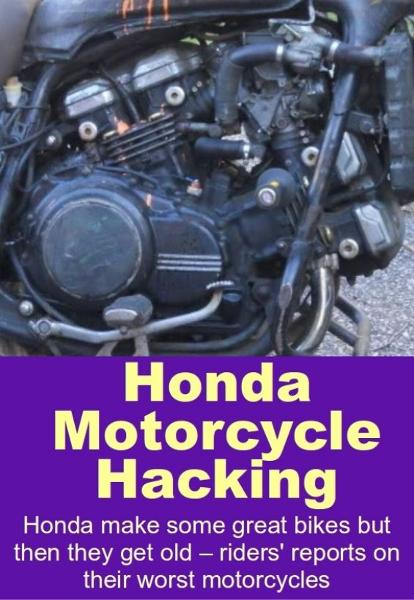 Honda Motorcycle Hacking