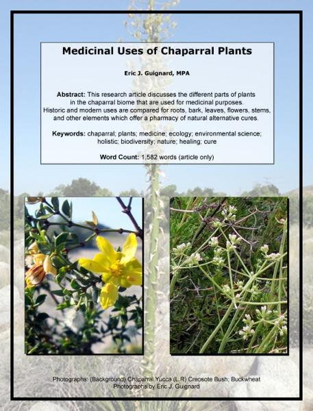Medicinal Uses of Chaparral Plants