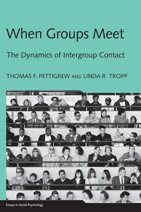 When Groups Meet The Dynamics of Intergroup Contact