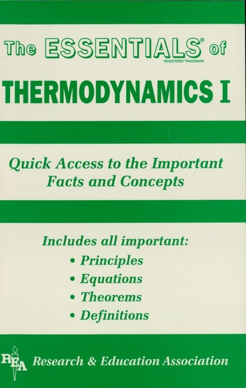 Thermodynamics I Essentials