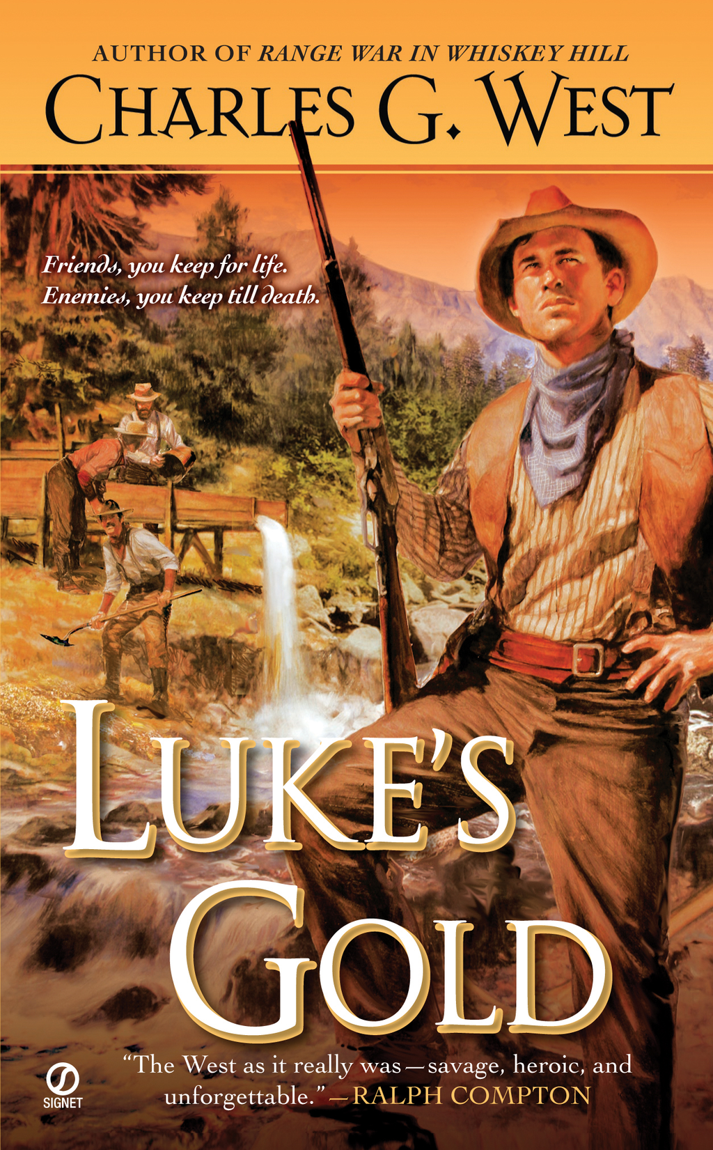 Luke's Gold By: Charles G. West