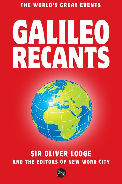 Galileo Recants