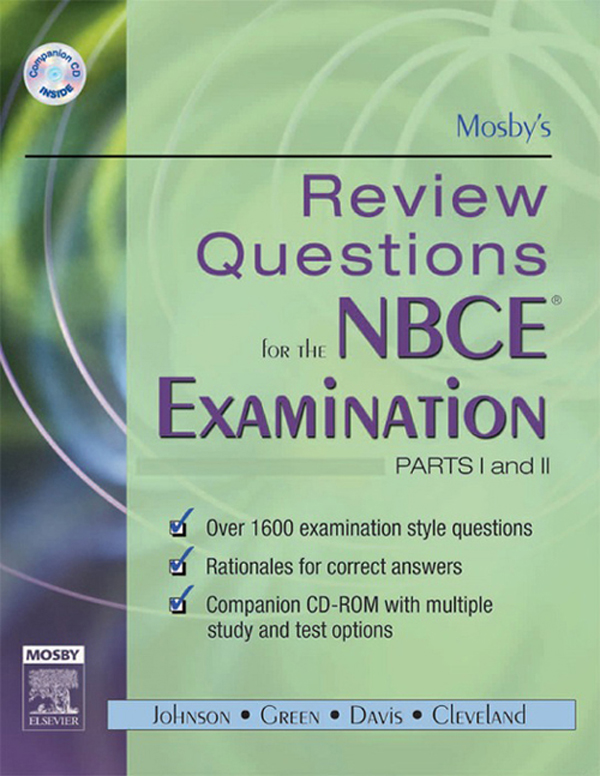 Mosby's Review Questions for the NBCE Examination: Parts I and II
