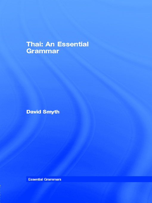 Thai: An Essential Grammar