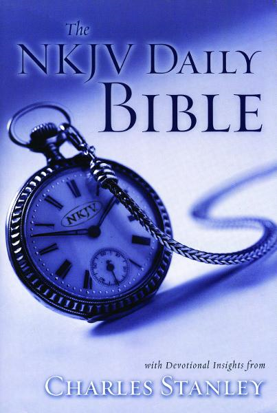 The NKJV Daily Bible By: Charles F. Stanley