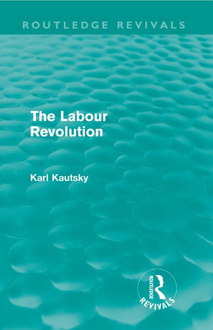 The Labour Revolution (Routledge Revivals)