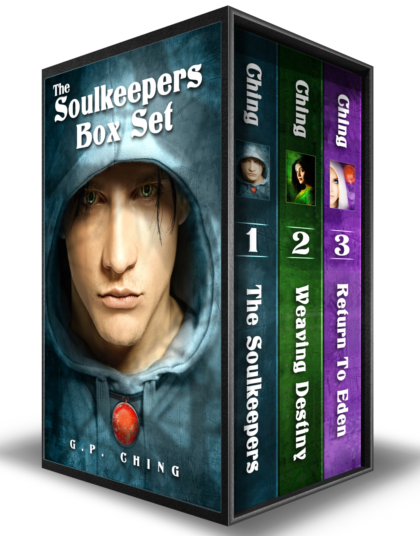 Box Set: The Soulkeepers (Books 1-3)