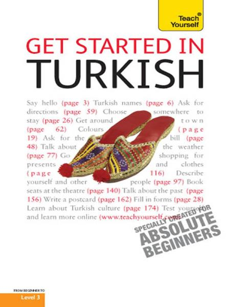 Get Started In Turkish: Teach Yourself