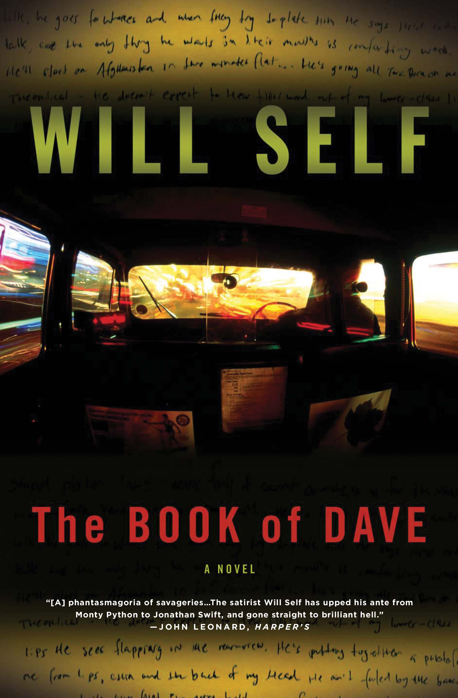 The Book of Dave By: Will Self