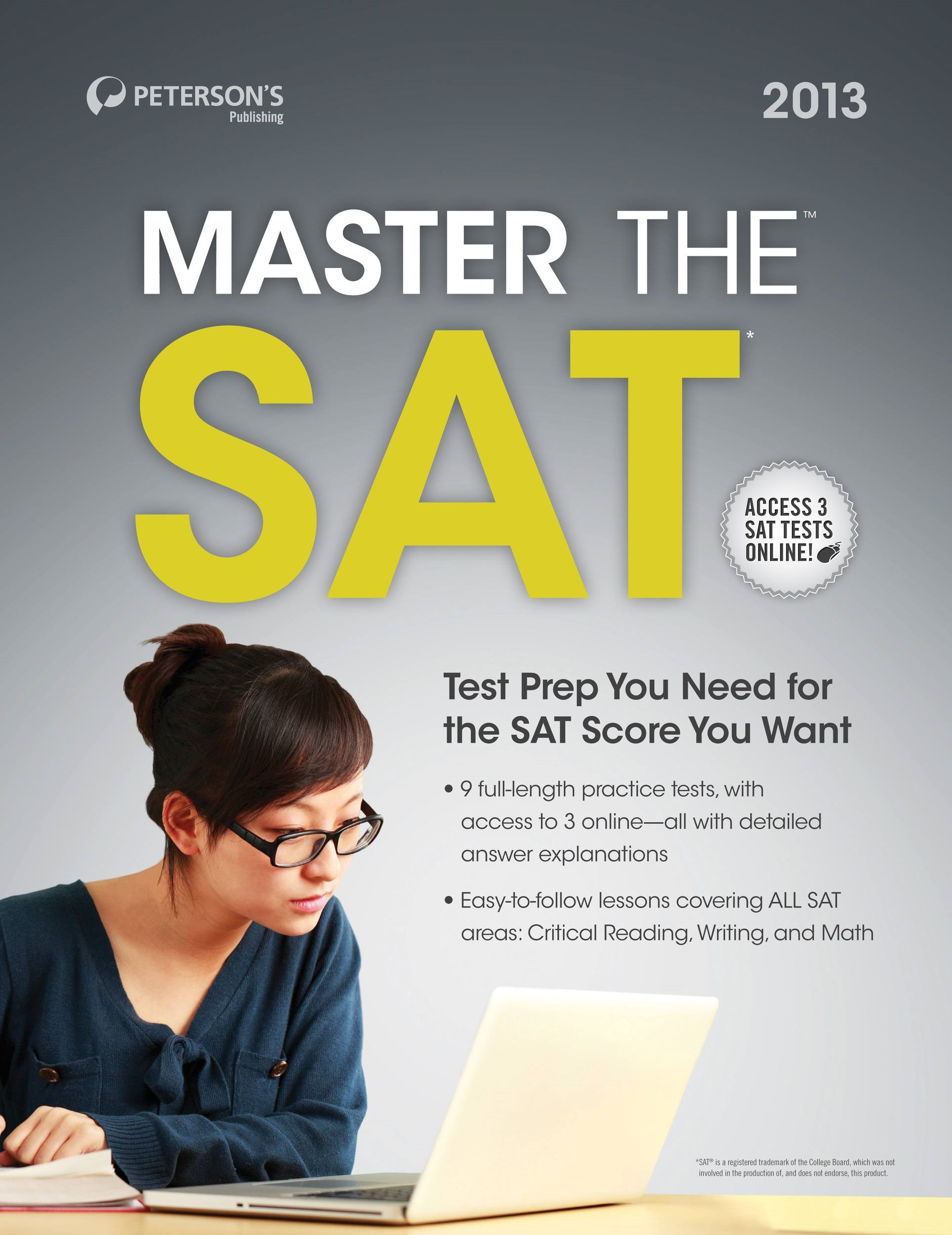 Master the SAT Writing By: Peterson's