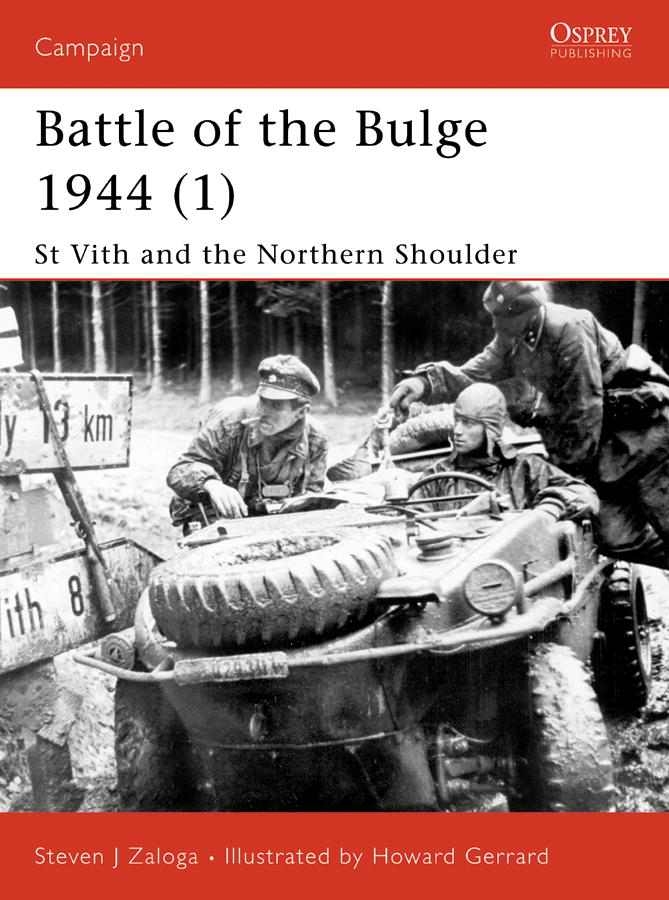 Battle of the Bulge 1944 (1) By: Steven Zaloga,Howard Gerrard