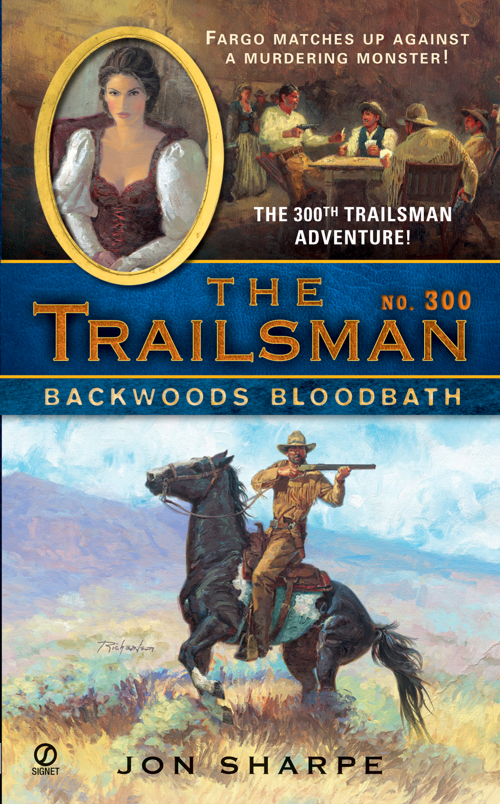 The Trailsman #300 By: Jon Sharpe
