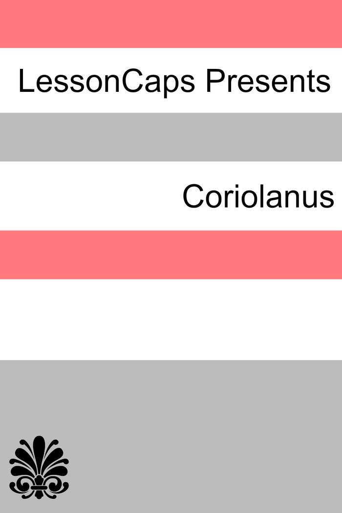 Coriolanus Teacher Lesson Plans