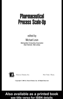 Pharmaceutical Process Scale-Up:
