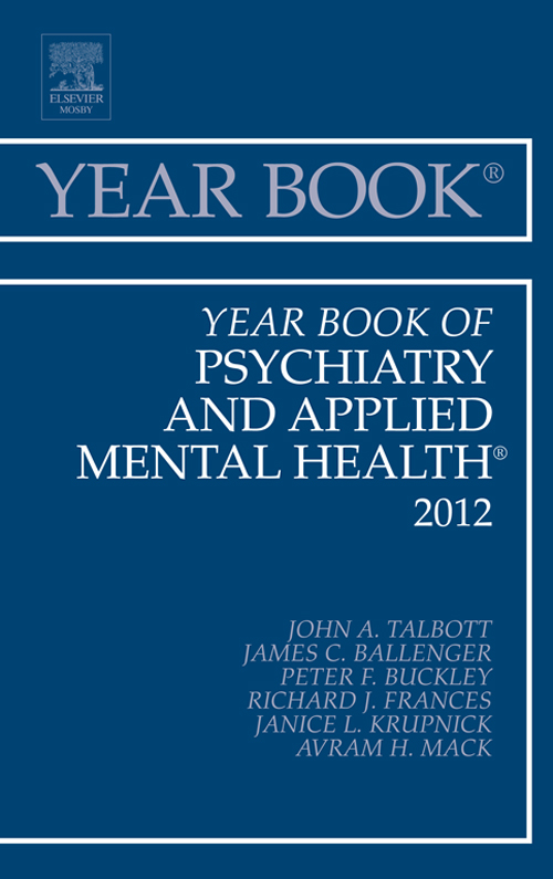 Year Book of Psychiatry and Applied Mental Health 2012