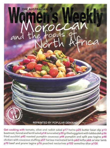 Moroccan & Foods of North Africa The Australian Women's Weekly
