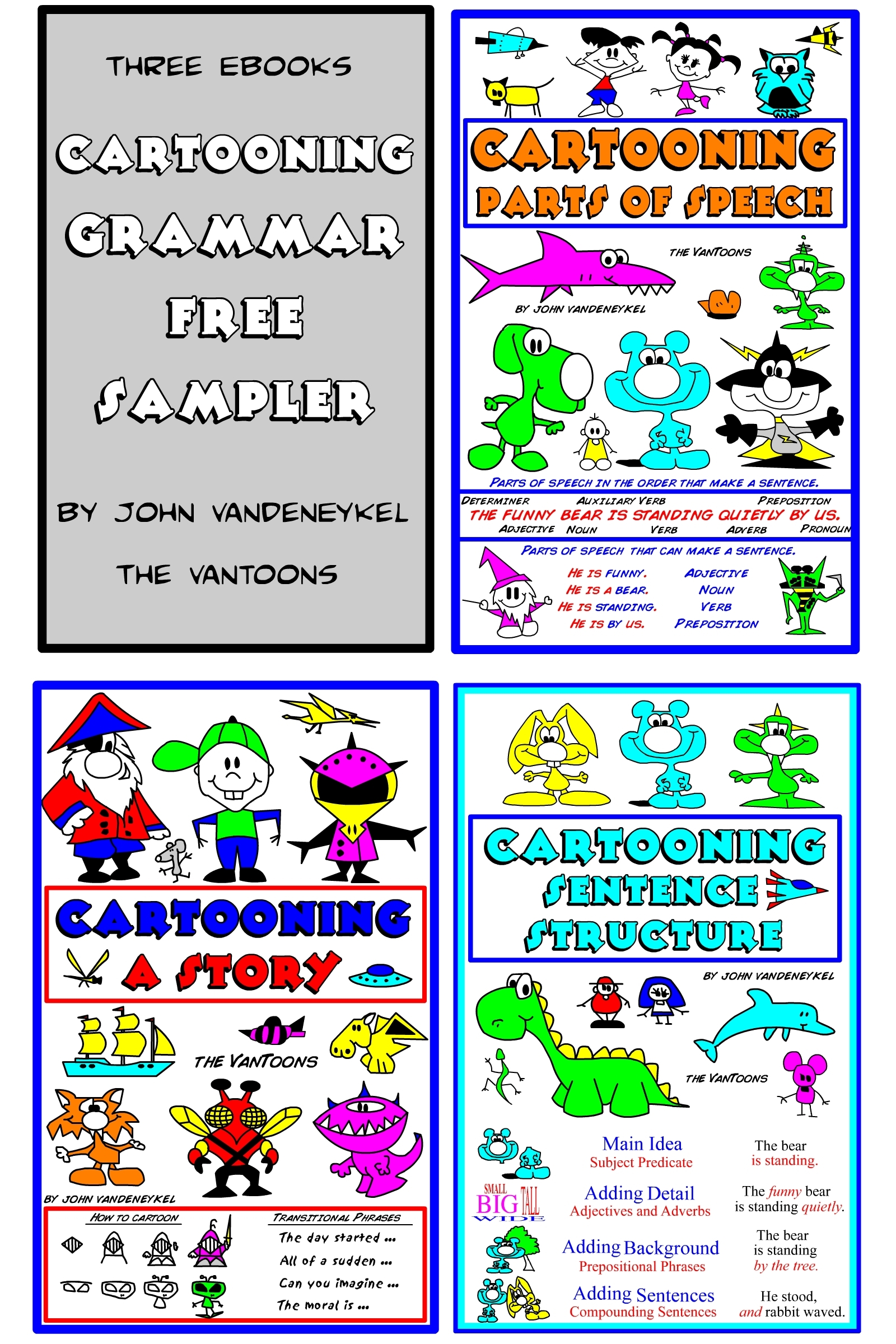 Cartooning Grammar Free Sampler