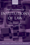 Institutions Of Law: An Essay In Legal Theory: