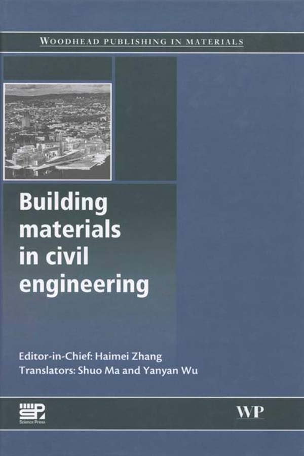 Building Materials in Civil Engineering