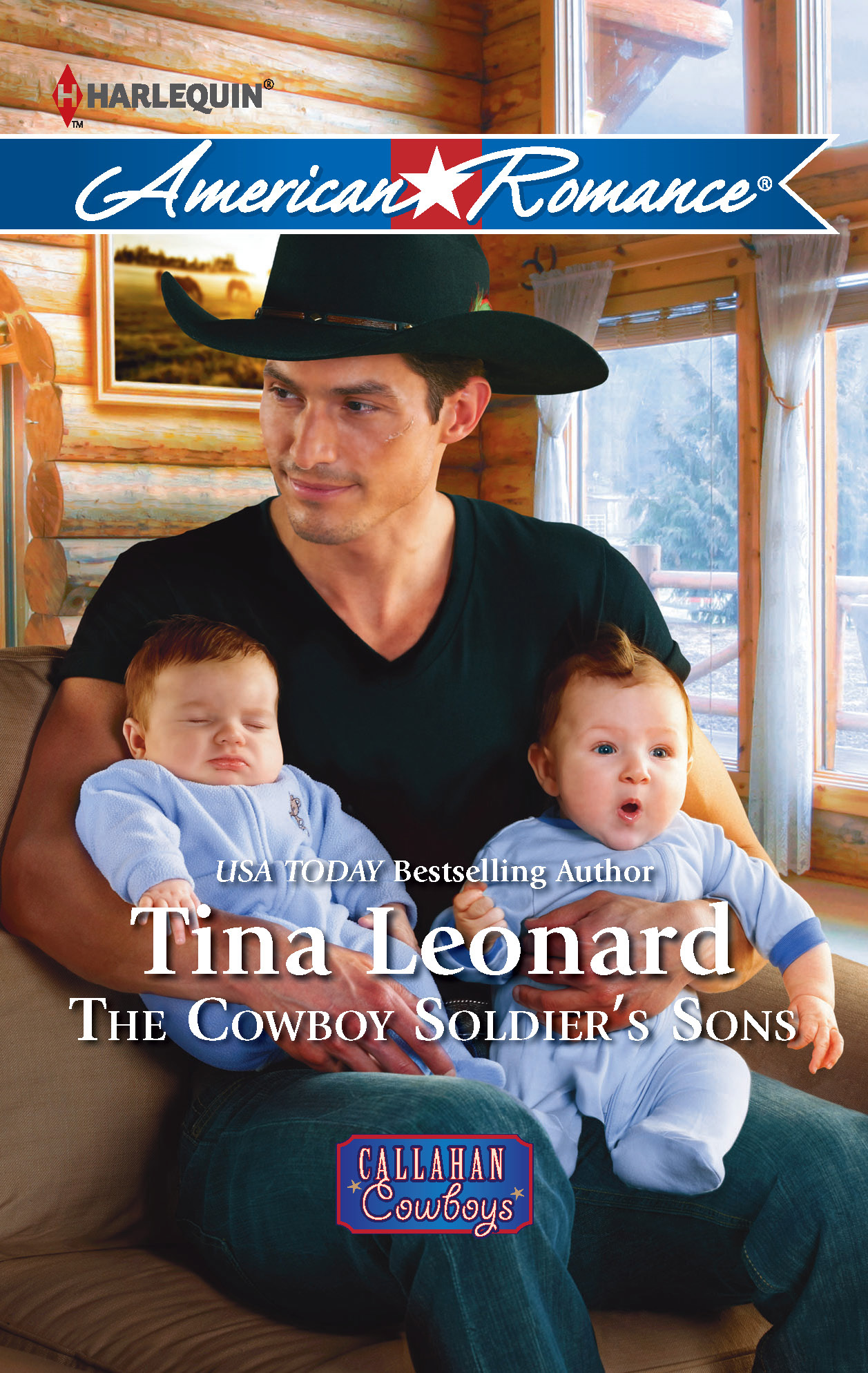The Cowboy Soldier's Sons By: Tina Leonard