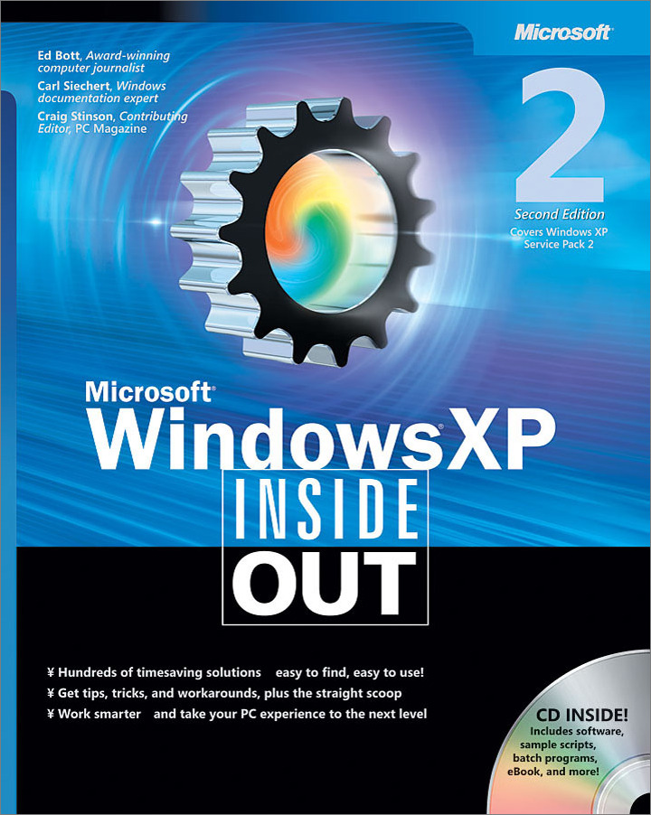 Microsoft® Windows® XP Inside Out