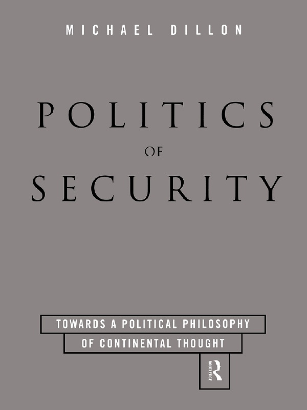 Politics of Security