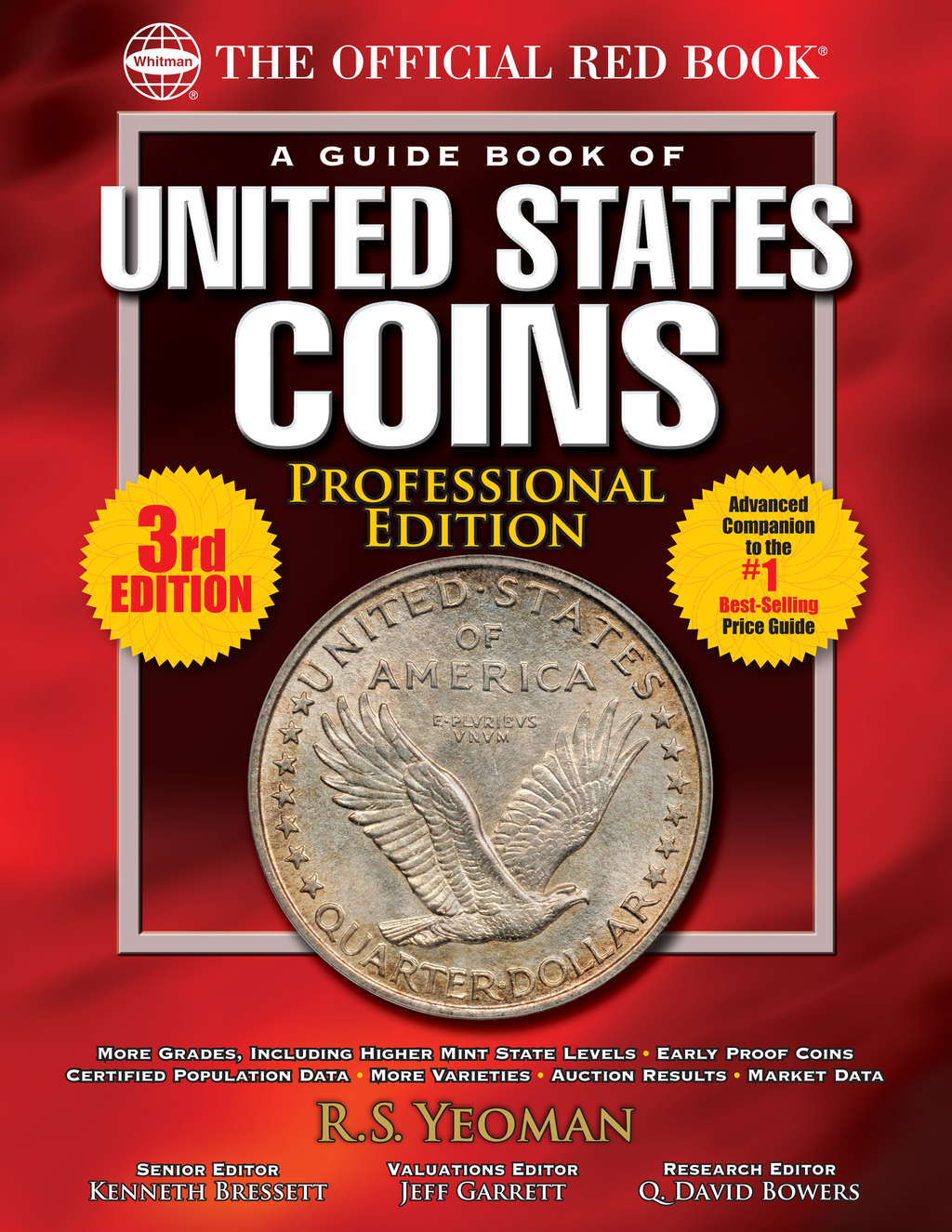 The Official Red Book: A Guide Book of United States Coins, Professional Edition