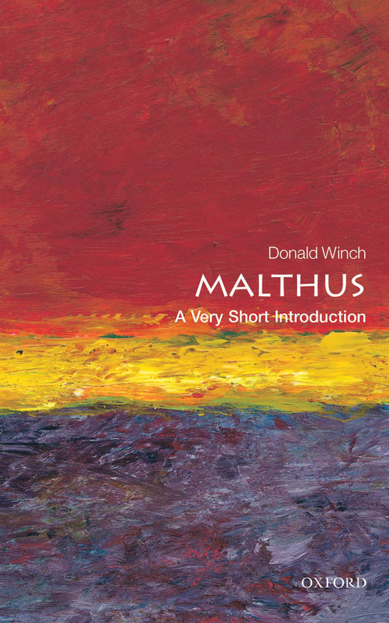 Malthus: A Very Short Introduction