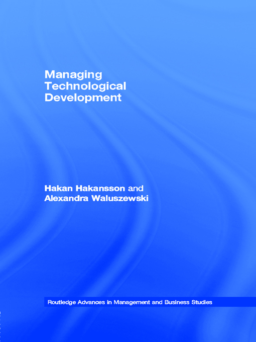 Managing Technological Development