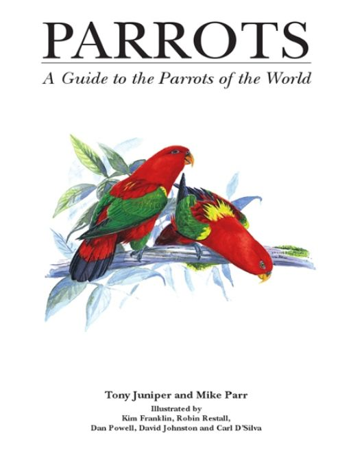 Parrots: A Guide To Parrots Of The World By: Mike Parr Tony Juniper