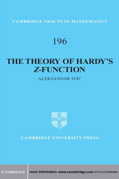 The Theory of Hardy's Z-Function