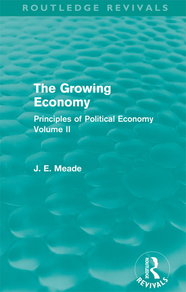 The Growing Economy (Routledge Revivals)