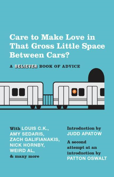 Care To Make Love In That Gross Little Space Between Cars? By: