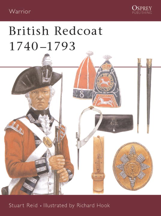 British Redcoat 1740-93